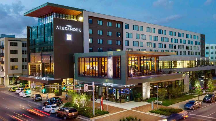 The alexander hotel 1 list