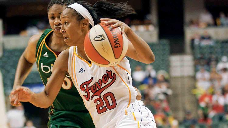 Indiana fever 1 list