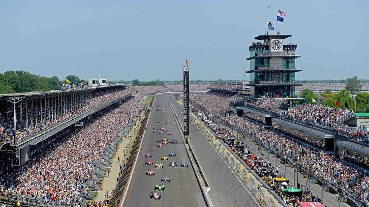 Indianapolis motor speedway 1 list