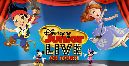 Disney Junior Live Pirate and Princess