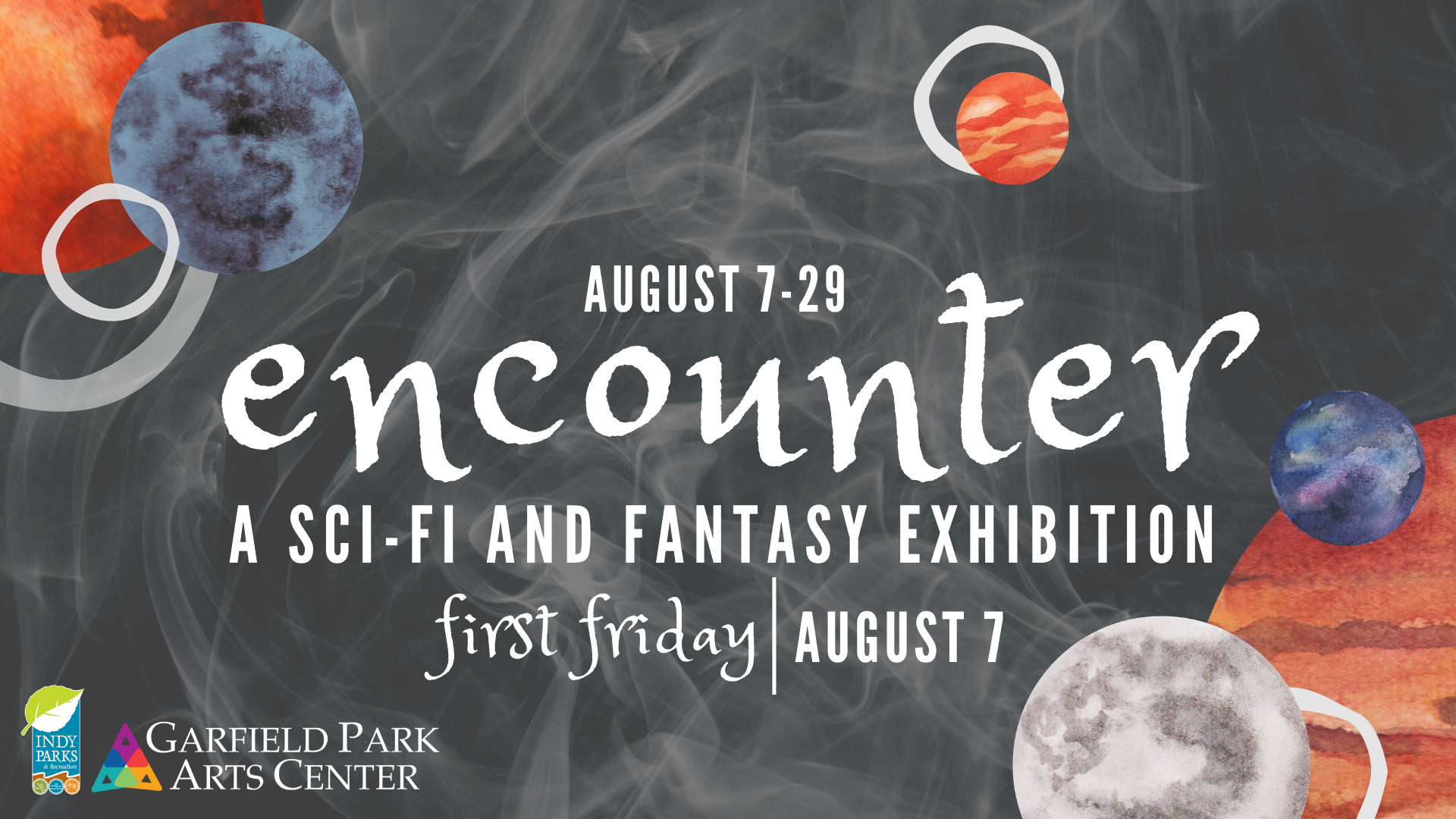Virtual First Friday - Encounter: A Sci-Fi and Fantasy Exhibition