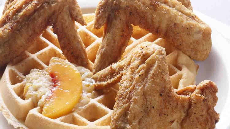 Maxines chicken waffles 1 list