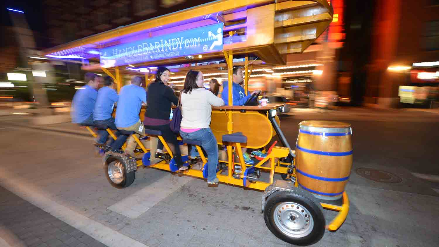 The HandleBar Indy Pedal Pub 1