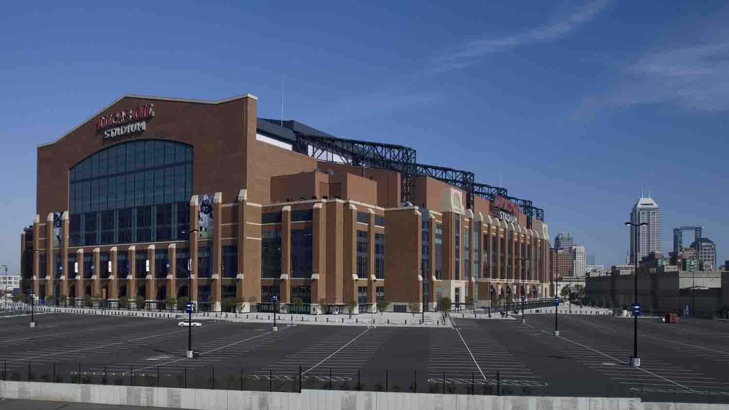 Lucas oil stadium 8