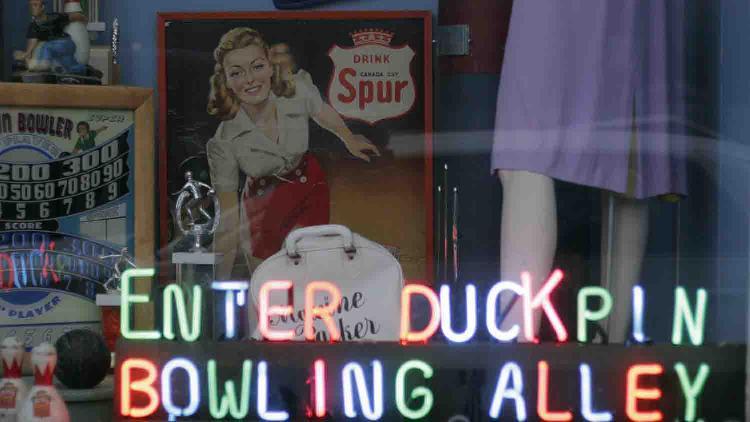 Action Duckpin Bowl & Atomic Bowl Duckpin