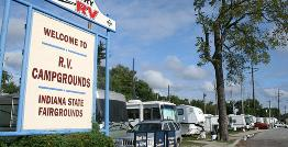 Indiana State Fairgrounds Campsites