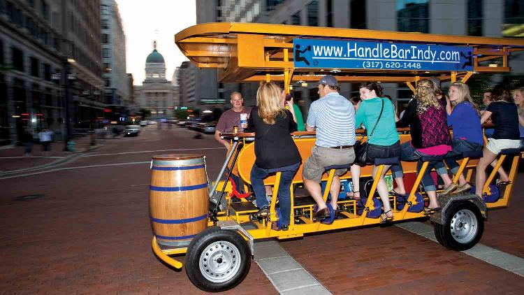 The HandleBar Indy Pedal Pub