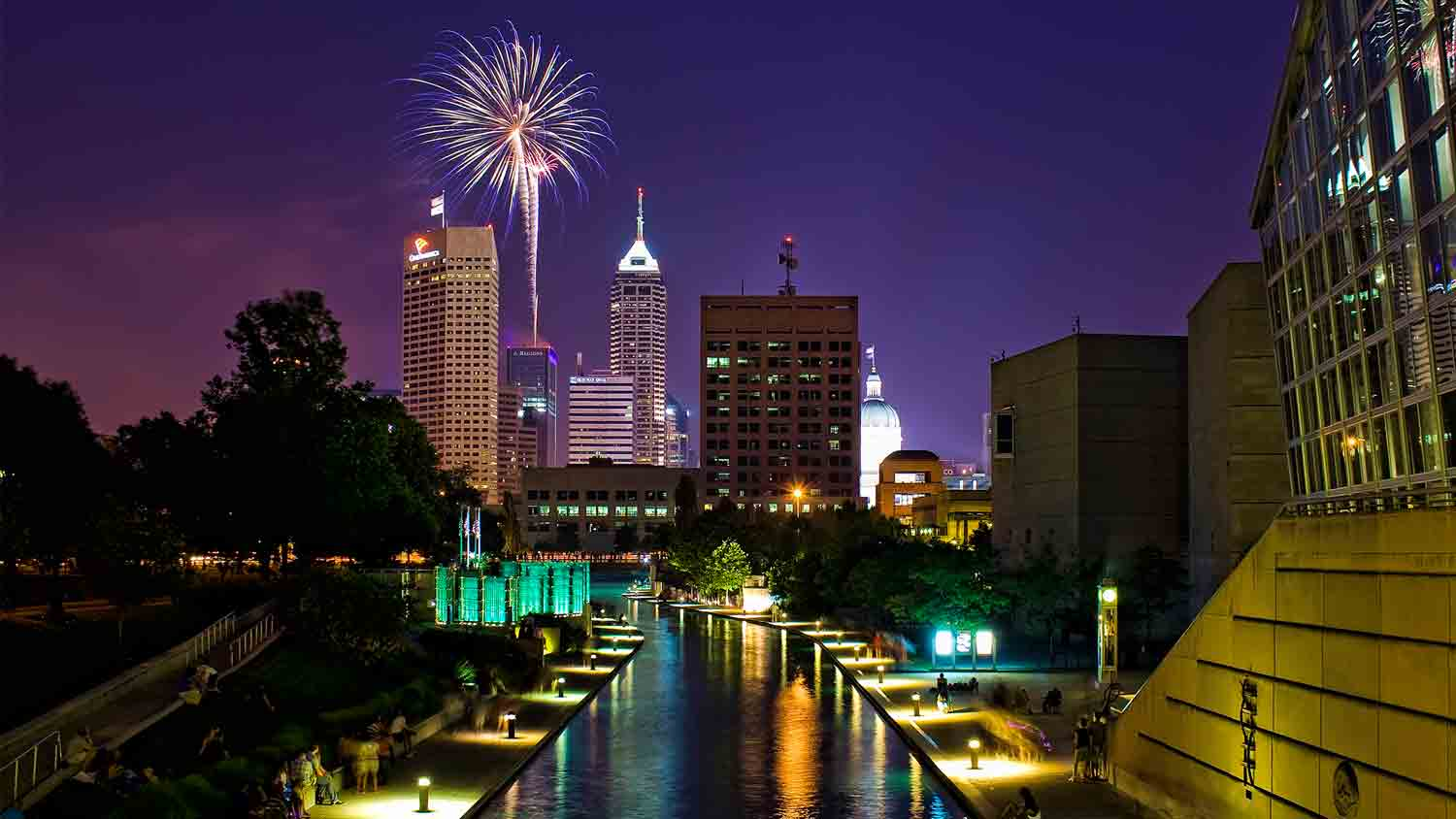 Donatos Downtown Freedom Blast Independence Day Fireworks Show