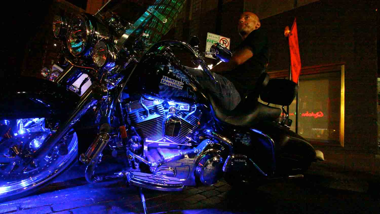 Motorcycles on Meridian 6