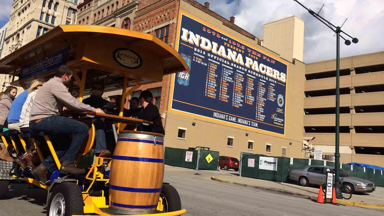 The HandleBar Indy Pedal Pub 6