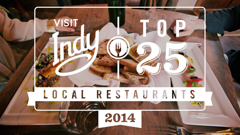 Top 25 Local Restaurants 2014 Lead