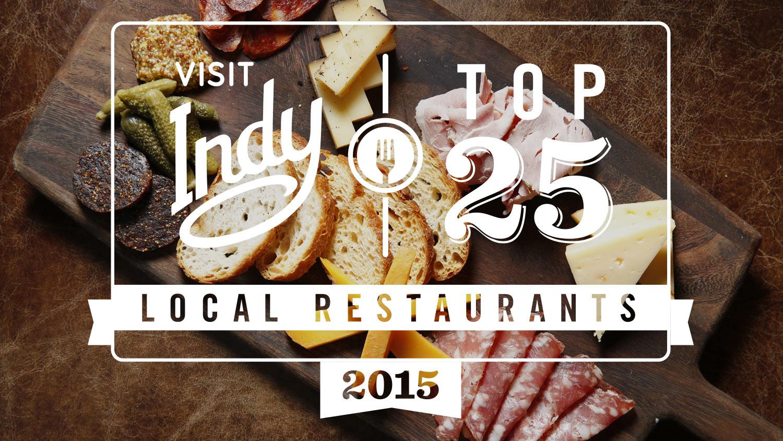 Top 25 Local Restaurants 2015