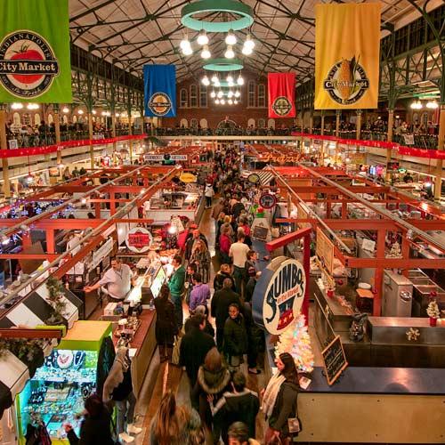 History buffs city market
