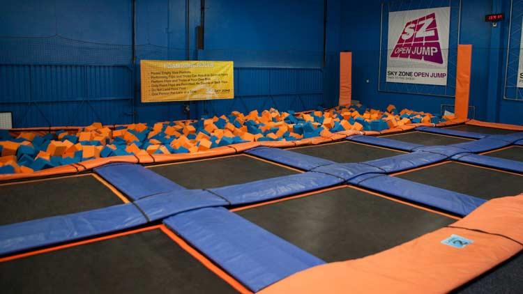 Sky Zone Indoor Trampoline Park - Plainfield 16