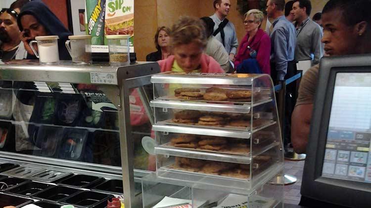 Subway Sandwich #10491 - Downtown 1