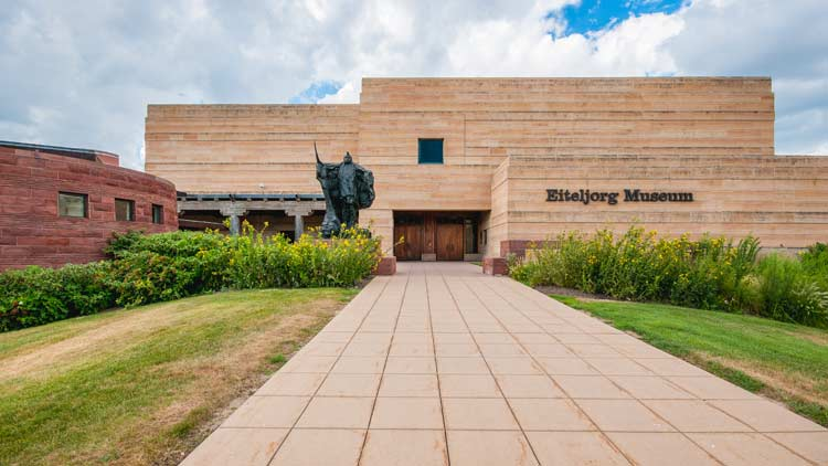 Eiteljorg Museum of American Indians & Western Art located in White River State Park