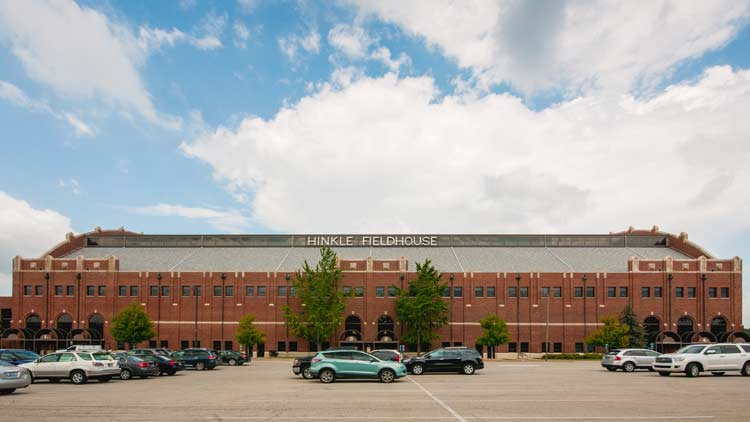 Hinkle Fieldhouse at Butler University 3
