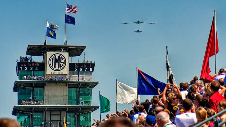 "Crown Royal Presents ""Your Hero's Name Here"" 400 at the Brickyard"