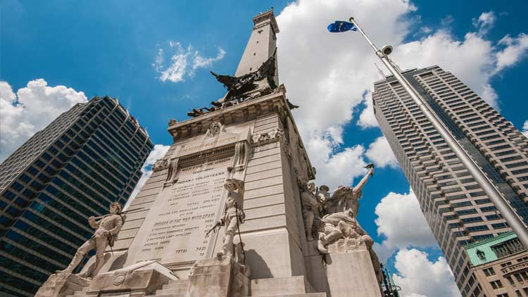 Soldiers & Sailors Monument/Monument Circle 12