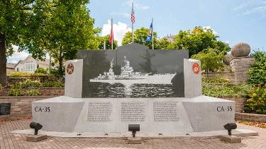 USS Indianapolis CA 35 Memorial