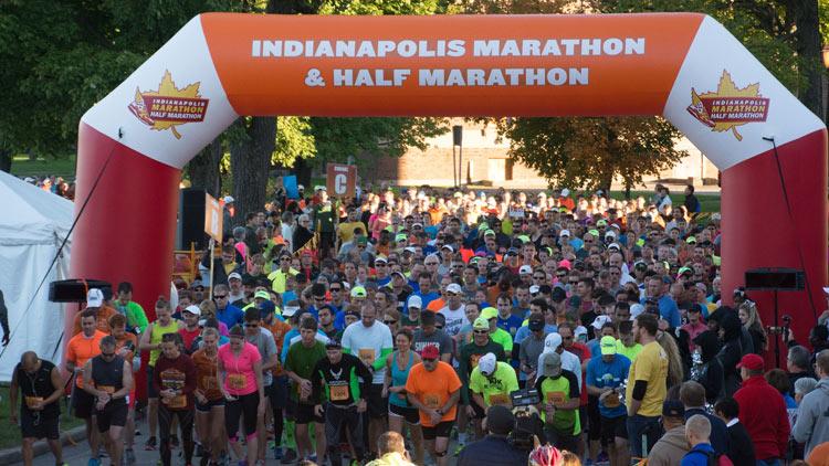 Indy half marathon 1