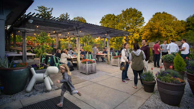 The Beer Garden at Indianapolis Museum of Art 5