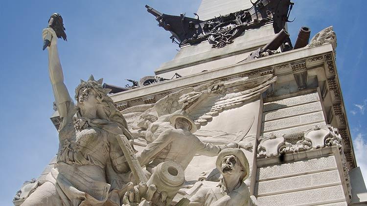 Monuments memorials list