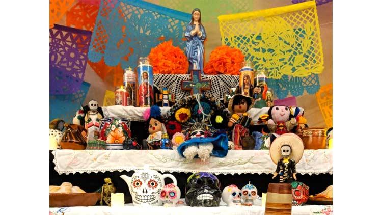 Dia de los Muertos Contemporary Art and Altar Exhibition by Nopal Cultural