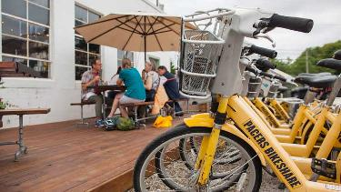Indy Cultural Trail Food Tour - Bicycle Tour