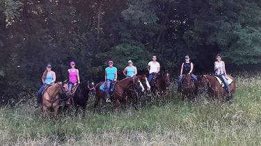 Hoosier Trail Rides at Fort Harrison State Park
