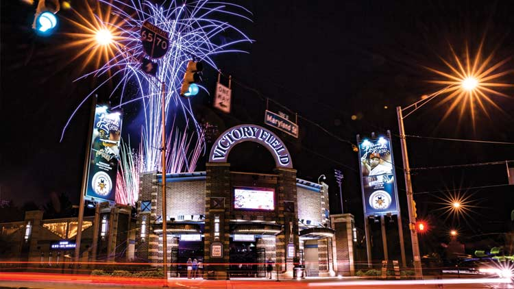 Fridays Fireworks with the Indianapolis Indians
