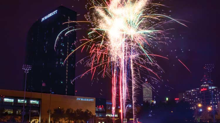 Fridays Fireworks with the Indianapolis Indians 3
