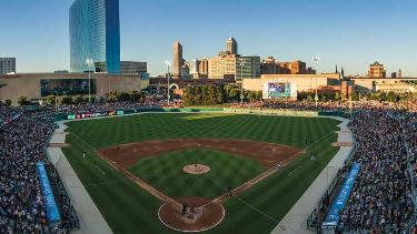 Victory Field located in White River State Park