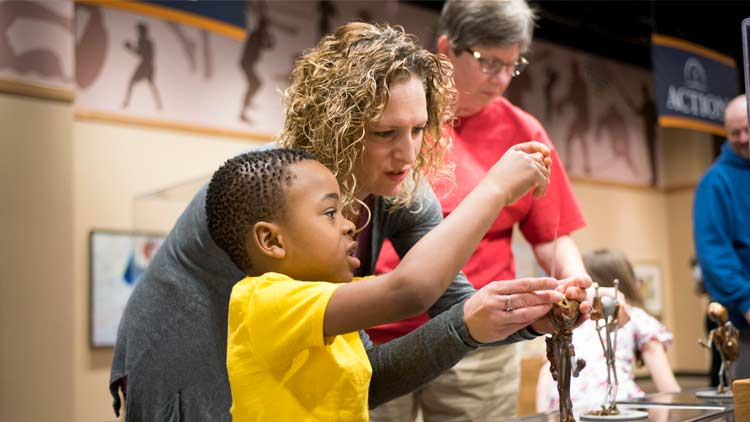 Riley Children's Health Sports Legends Experience at The Children's Museum of Indianapolis 1