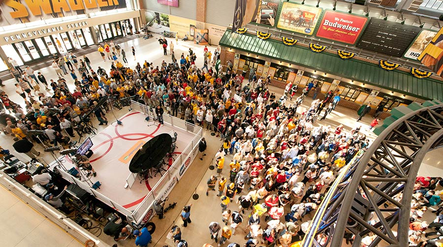 Bankers Life Fieldhouse 12