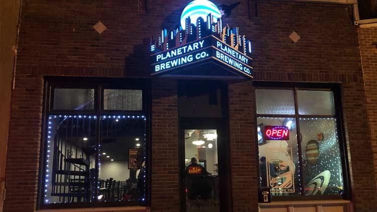 Planetary Brewing Company 1