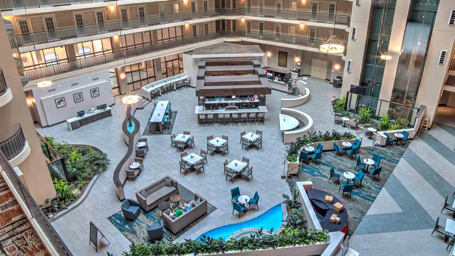 Embassy Suites Indianapolis North 5