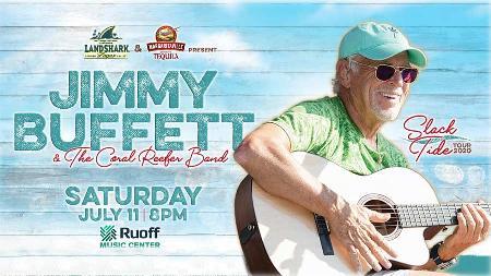 Jimmy Buffett & the Coral Reefer Band - Slack Tide Tour