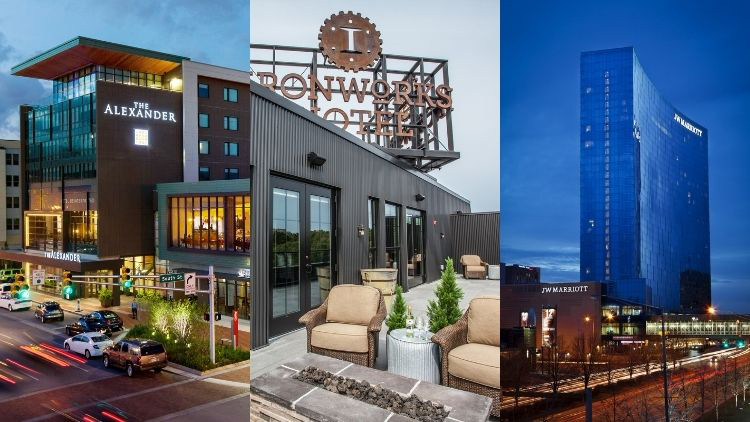 Condé Nast Traveler Names Three Indy Hotels in their Best of the Midwest