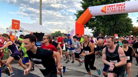 Indy Half Marathon and 5K at Fort Ben