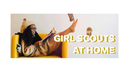 Girl Scouts at Home