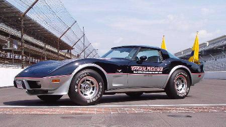 Chevrolet Corvette Pace Car Homecoming