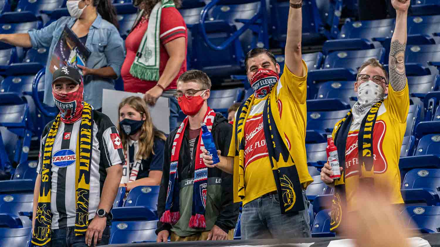 Indy Eleven 14