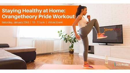 Staying Healthy at Home - Orangetheory Pride Workout