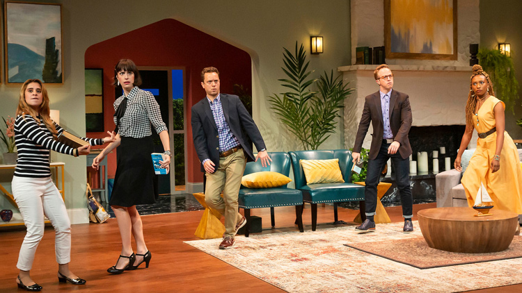 """Live Theater Returns to Downtown With """"The Book Club Play"""""""