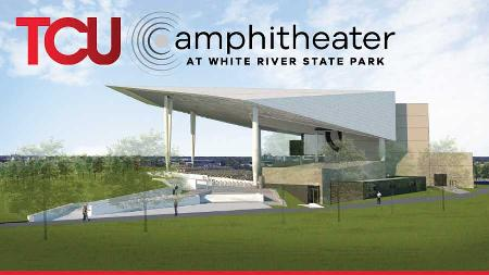 The TCU Amphitheater at White River State Park