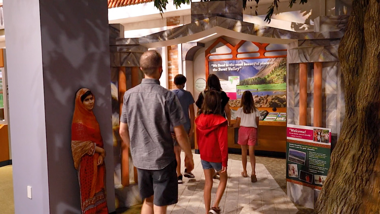 Malala Yousafzai's Story Comes to Life at the Children's Museum of Indianapolis