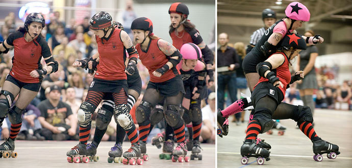 Naptown roller girls3